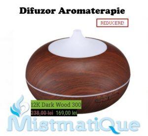 Difuzor aromaterapie Mistmatique umidificator uleiuri esentiale